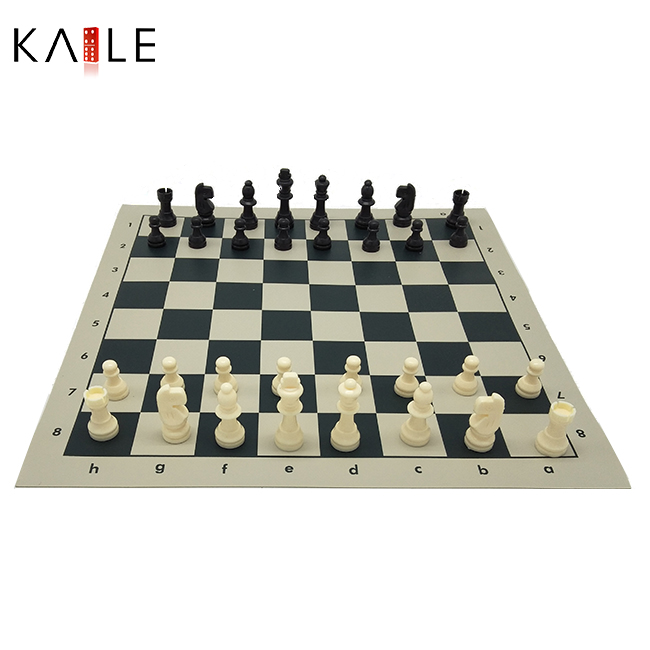 Luxury Chess set with  Straps cylinder package