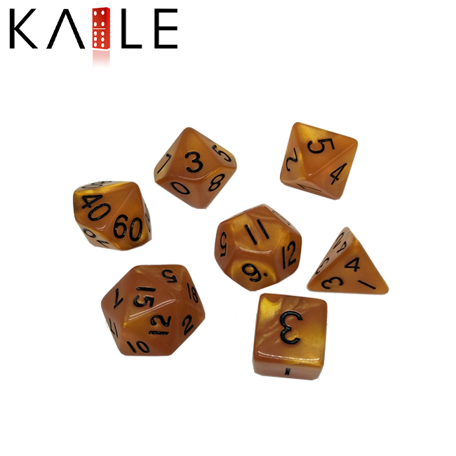 Double Color Polyhedral Dice2
