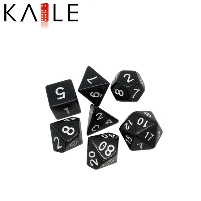Ordinary Polyhedral Dice