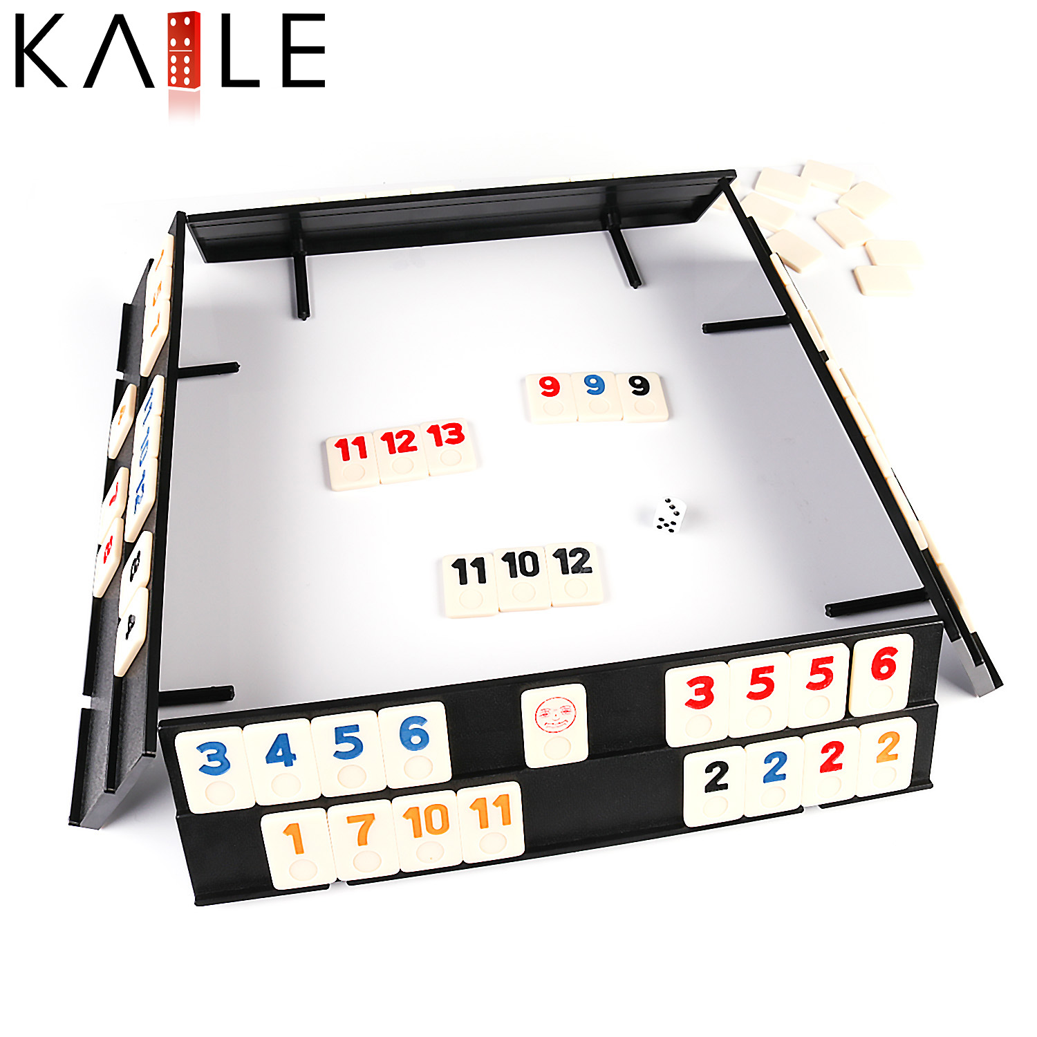 RUMMY WITH ALUMINIUM SET