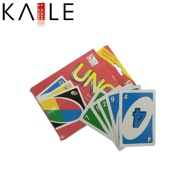 Hot Sale Custom Paper Game Card