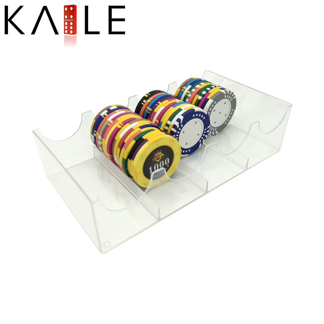 Good Price Transparent Poker Chip Tray Wholesale​
