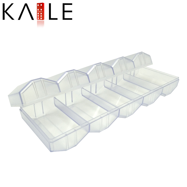 Transparent poker chip tray Factory
