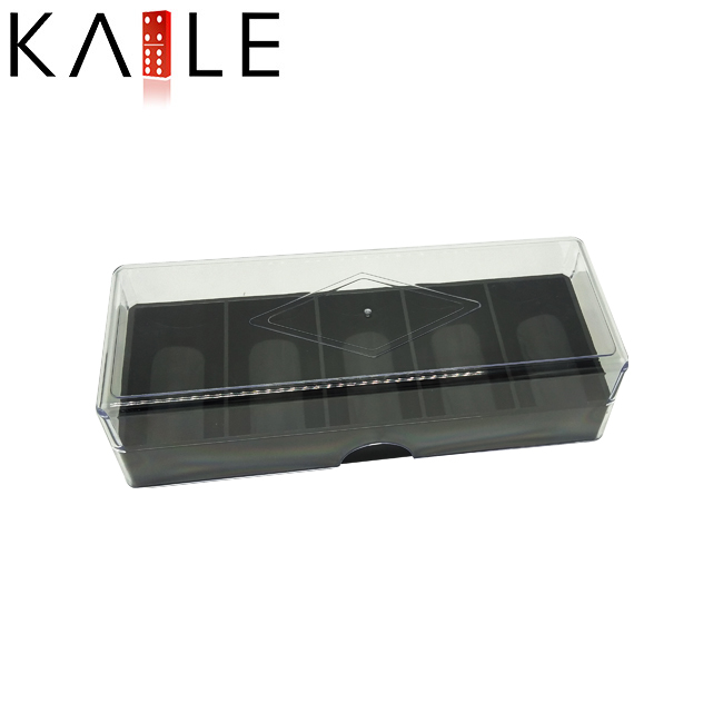 Hight quality Acrylic Black Poker Chip Tray